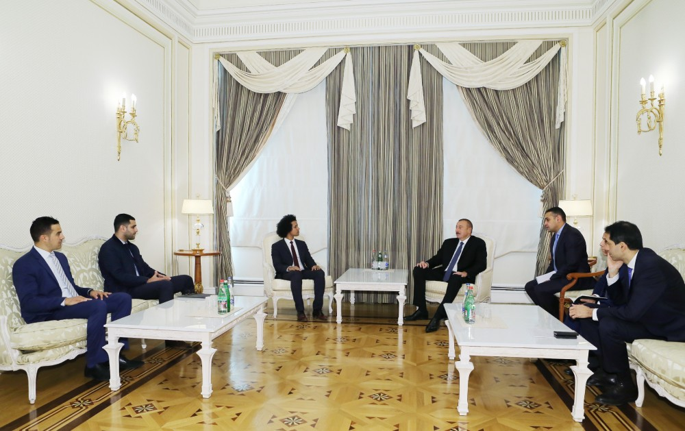 President Ilham Aliyev received delegation led by head of France-Azerbaijan Friendship Group
