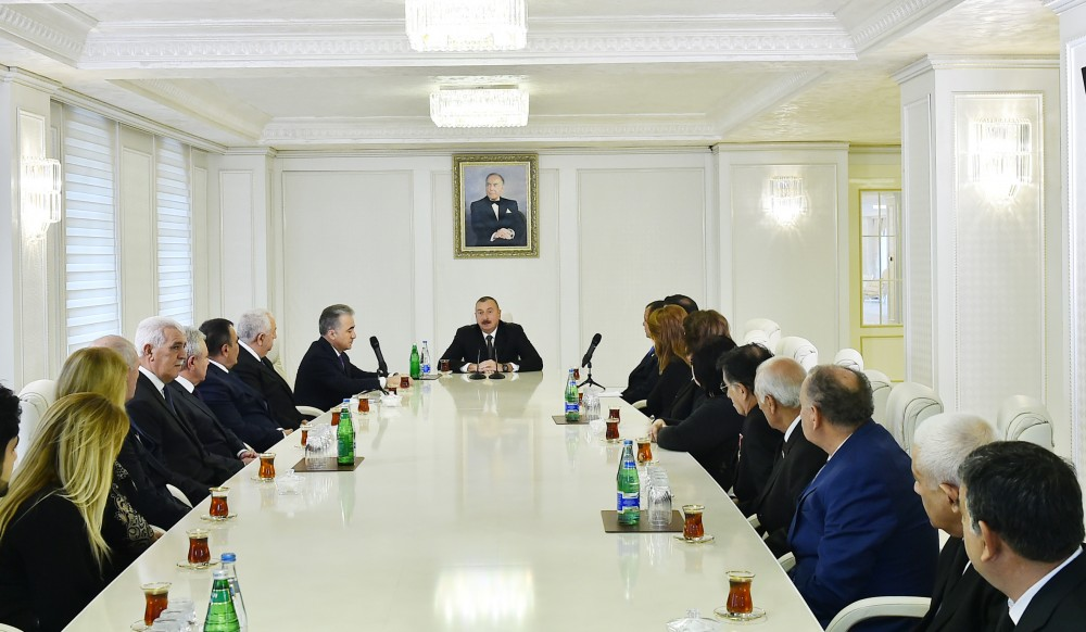 President Ilham Aliyev inaugurated new building of Ganja State Philharmonic