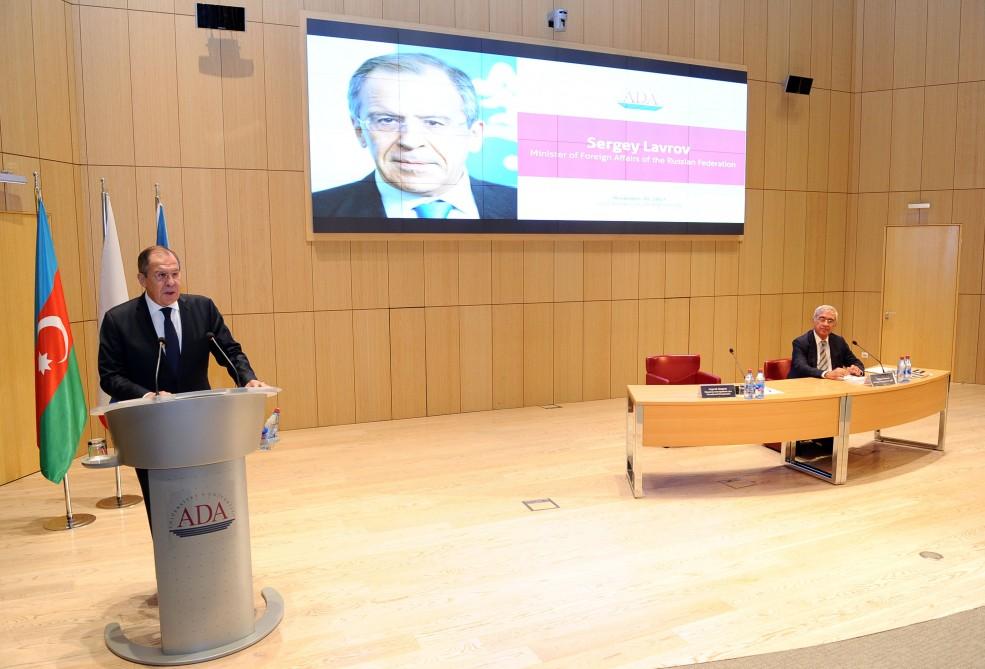 FM Lavrov: Azerbaijan and Russia are strategic partners