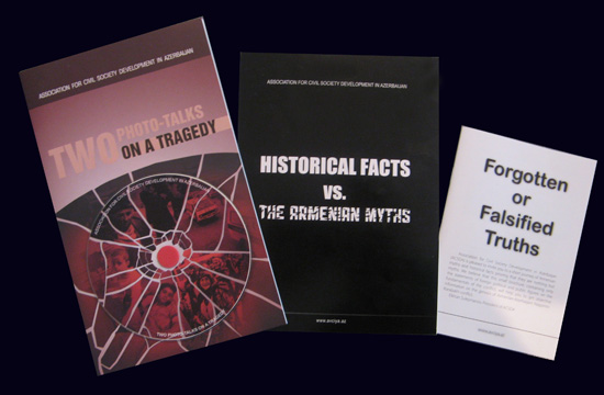 Состоялась презентация трех книг, посвященных Ходжалинскому геноциду