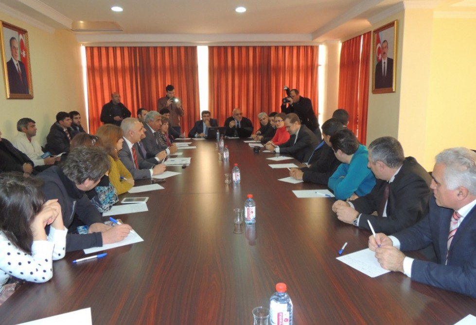 В Азербайджане прошла акция «Шествие к Сарсангу»