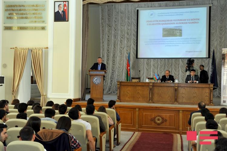 Студенты UNEC присоединились к проекту петиции AVCİYA