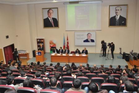 Состоялась церемония презентации книги «Гейдар Алиев: Государственная независимость Азербайджана вечна»