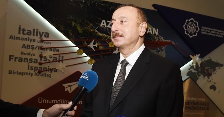"""""""Rossiya-24"""" telekanalı """"Bakutel-2017"""" sərgisindən reportaj yayımlayıb"""