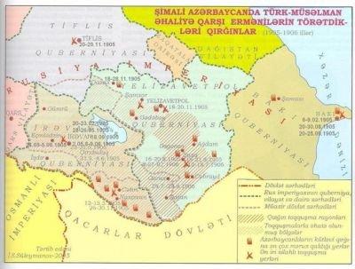 1905 və 1918-ci illərdə ermənilərin azərbaycanlılara qarşı soyqırımı aktları