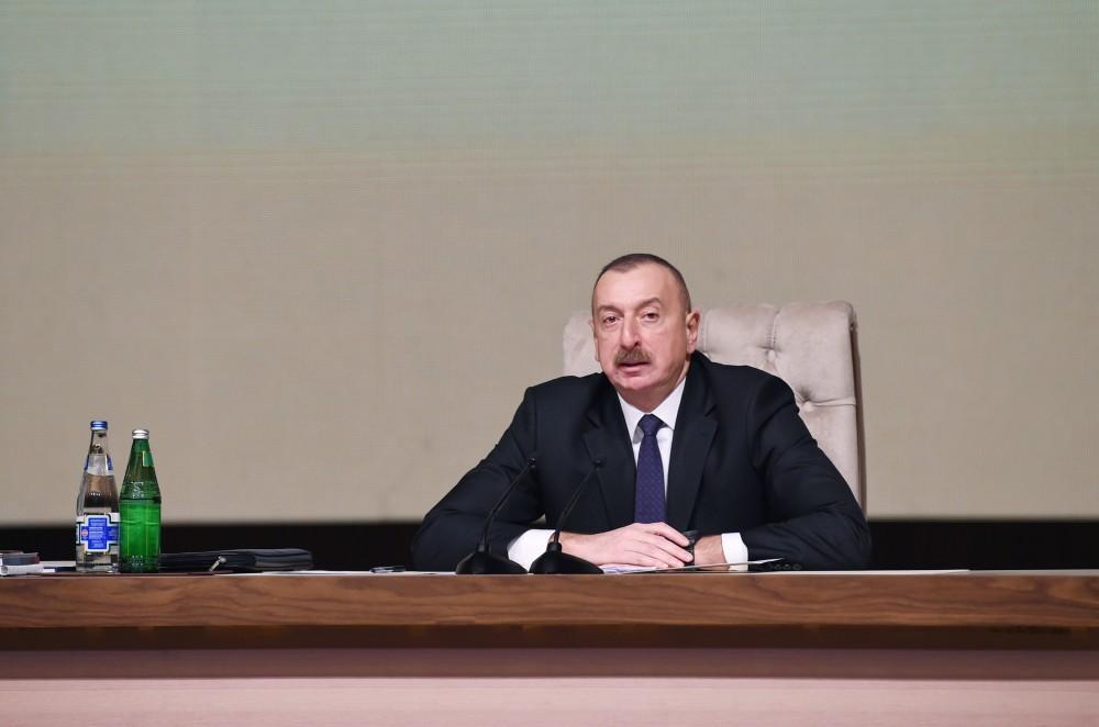 Prezident İlham Əliyev: Cocuq Mərcanlının və Şıxarxın timsalında dövlətimizin, xalqımızın iradəsini göstəririk