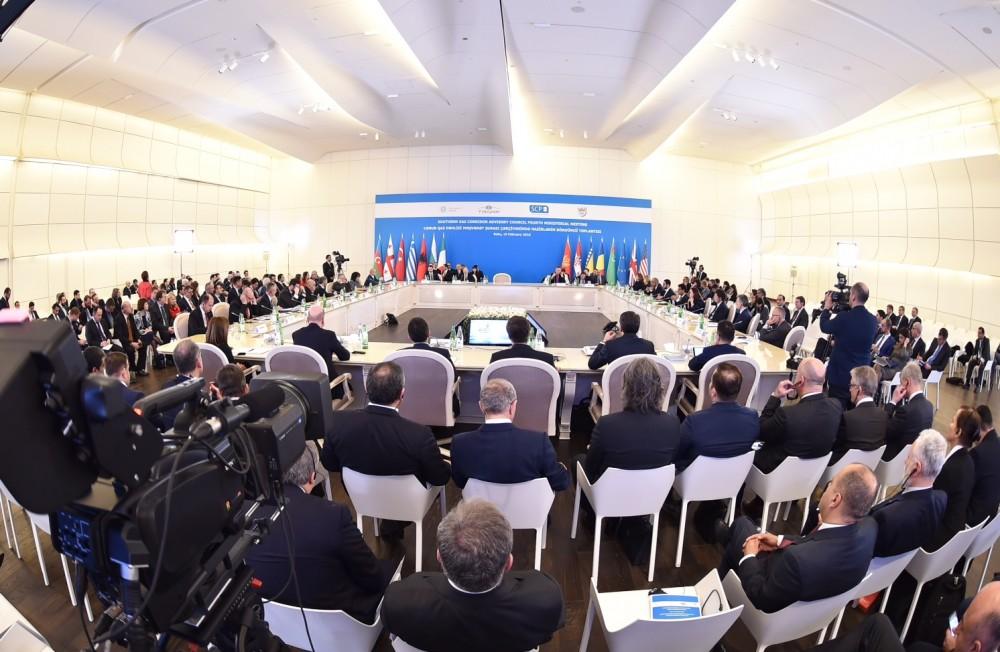 Cənub Qaz Dəhlizi Məşvərət Şurası çərçivəsində nazirlərin dördüncü toplantısı işini plenar sessiya ilə davam etdirib