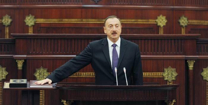 Azərbaycan Respublikasının Prezidenti İlham Əliyevin andiçmə mərasimi keçirilir
