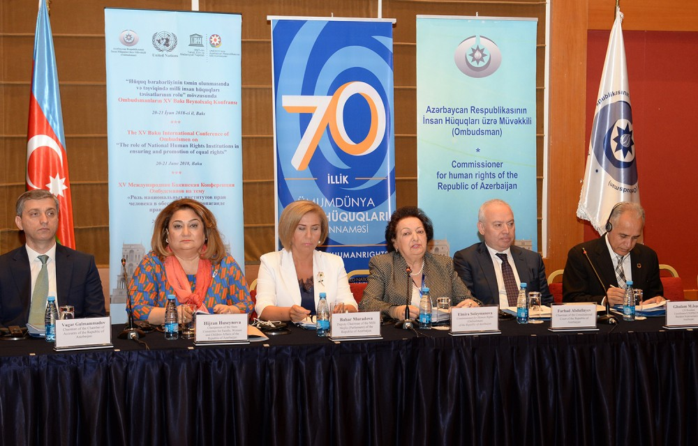 15th International Conference of Ombudspersons kicks off in Baku
