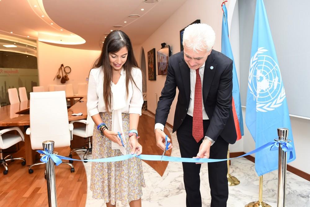 """FAO-nun Romadakı baş ofisində """"Azərbaycan otağı""""nın açılışı olub"""