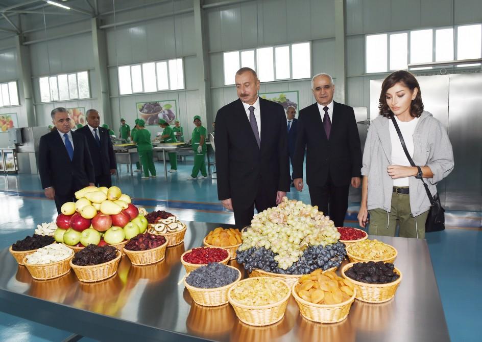"""""""Qubaekoaqrar"""" MMC-nin kənd təsərrüfatı mallarının istehsalı zavodu istifadəyə verilib"""