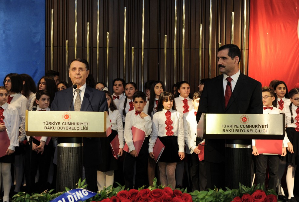 Turkey's national holiday marked in Baku