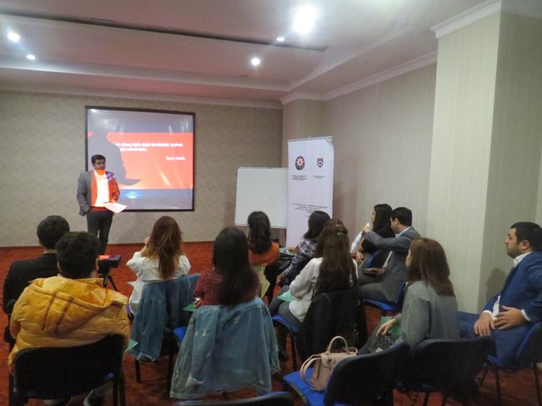 Bakıda seminar-məşğələ keçirilib