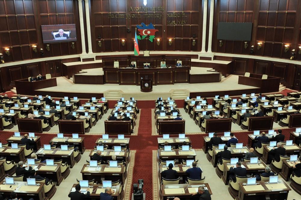Milli Məclisin payız sessiyasında ilk plenar iclası keçirilir