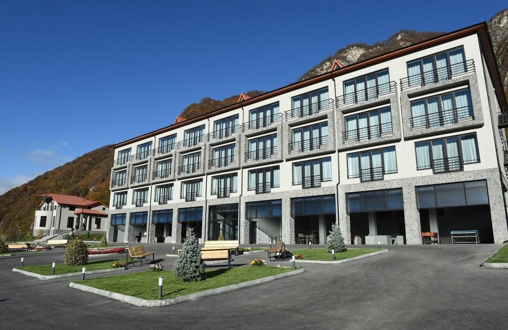 Открытие в Гахе отеля Yurd Hotel — важный вклад в развитие туризма