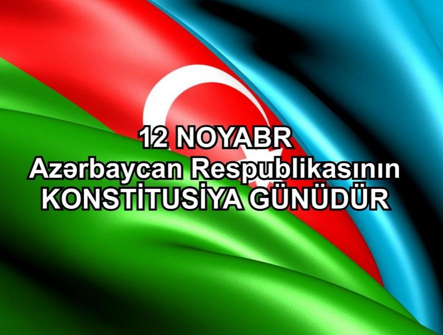 12 noyabr – Konstitusiya Günüdür