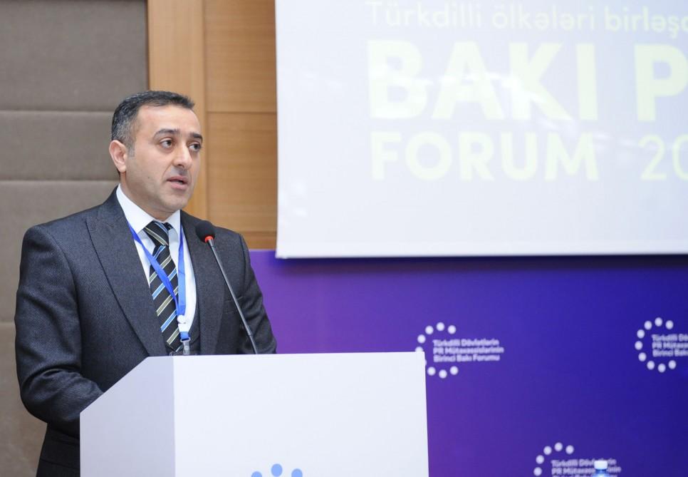 Türkdilli Dövlətlərin PR Mütəxəssislərinin Birinci Bakı Forumu keçirilib