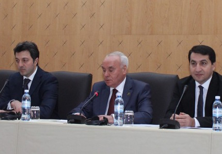 Board of Azerbaijani community of Nagorno-Karabakh region presented to representatives of diplomatic missions