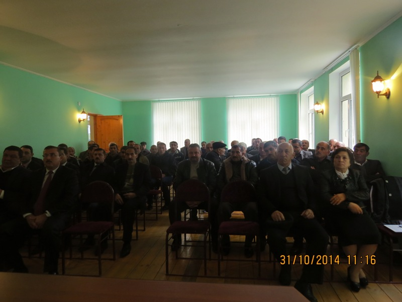 "Presentation of public report on ""Sarsang – Prevention of Humanitarian Catastrophe"" Project in Agdam region"