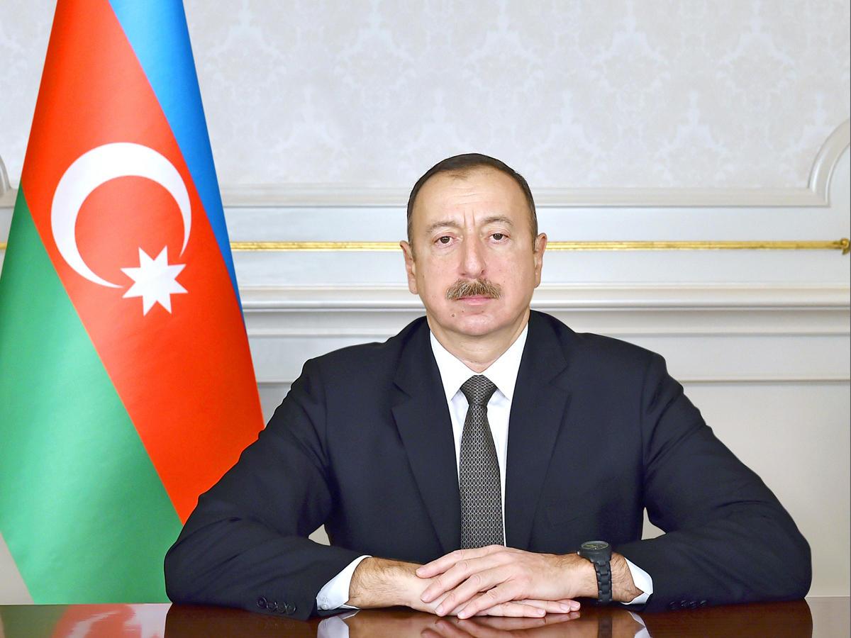 Указ Президента Азербайджанской Республики  О повышении пенсии Президента Азербайджанской Республики для семьи шехида