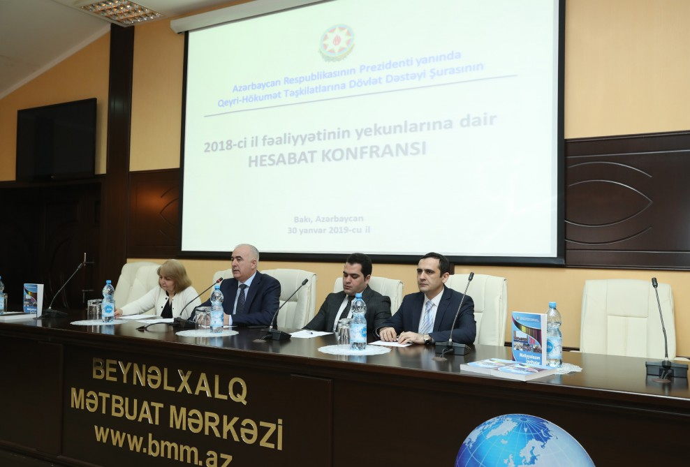 QHT-lərə Dövlət Dəstəyi Şurası 2018-ci ildəki fəaliyyəti ilə bağlı hesabat verib