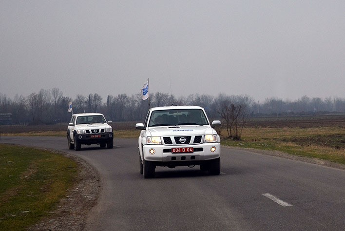 OSCE monitoring on front line ends without incident