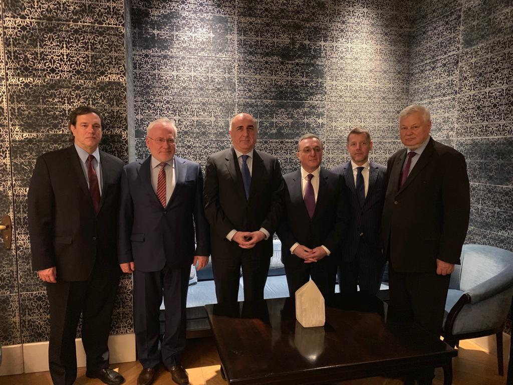 Foreign Ministers of Azerbaijan and Armenia meet in Vienna