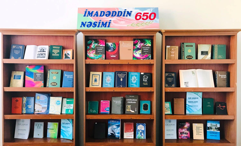 İmadəddin Nəsiminin 650 illik yubileyinə həsr olunan sərgi açılıb