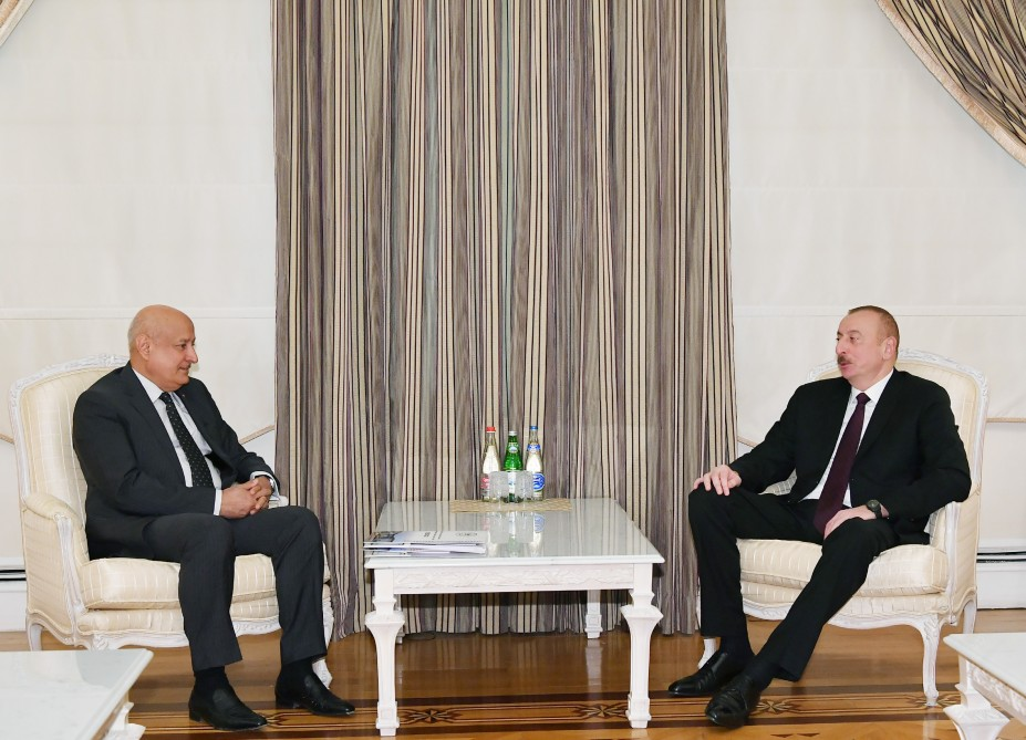 President Ilham Aliyev received ISESCO Director General