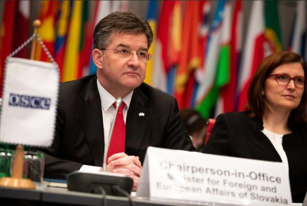 OSCE Chair welcomes constructive meeting between President of Azerbaijan and Prime Minister of Armenia
