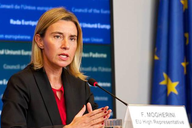 Mogherini: Everyone to benefit from lasting peace following Karabakh conflict settlement