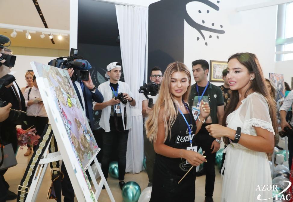 "Vice-President of Heydar Aliyev Foundation Leyla Aliyeva views ""Live Life"" exhibition"