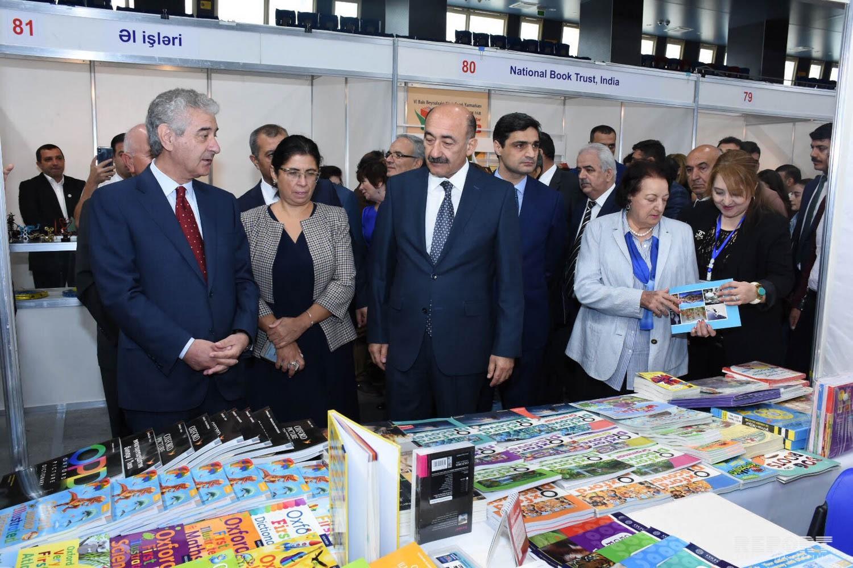 6th Baku International Book Fair kicks off