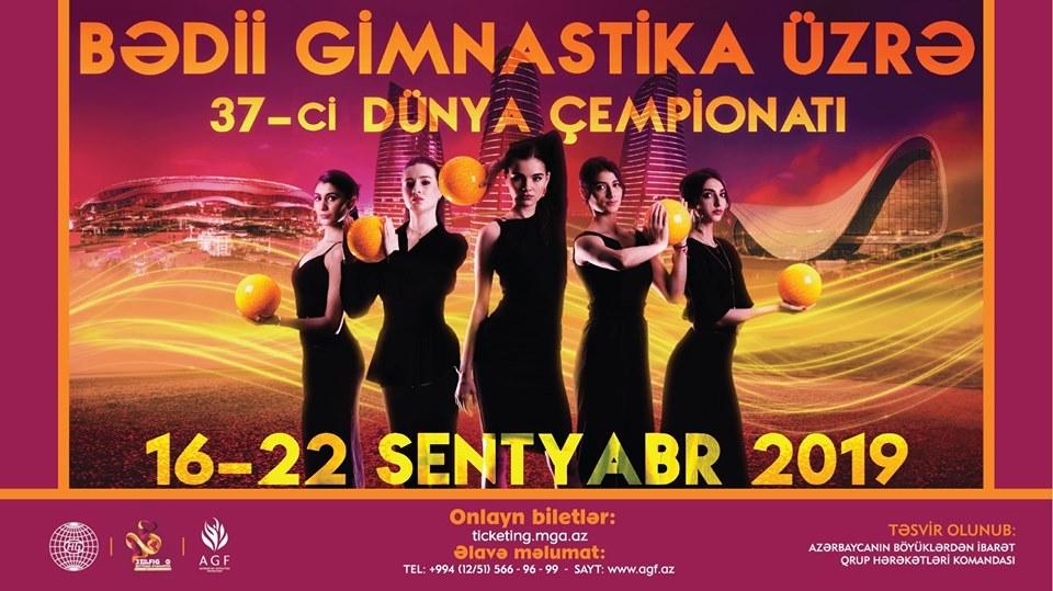 World Championship in rhythmic gymnastics kicks off in Baku