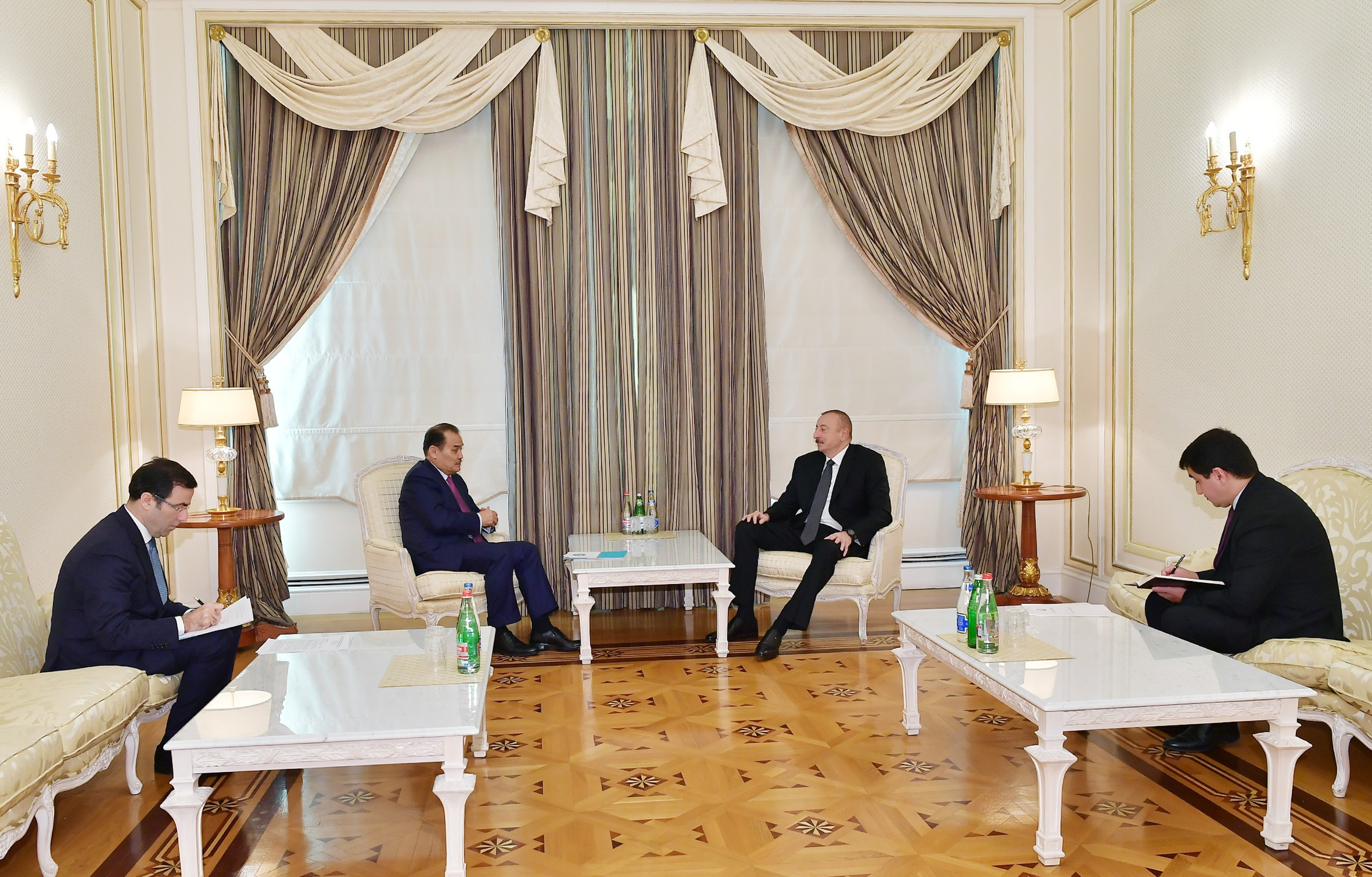 President Ilham Aliyev received Secretary General of Cooperation Council of Turkic-Speaking States