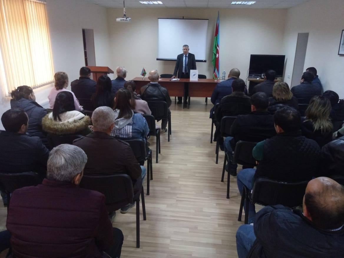 AVCİYA Şirvan və Sabirabadda seminarlara start verdi