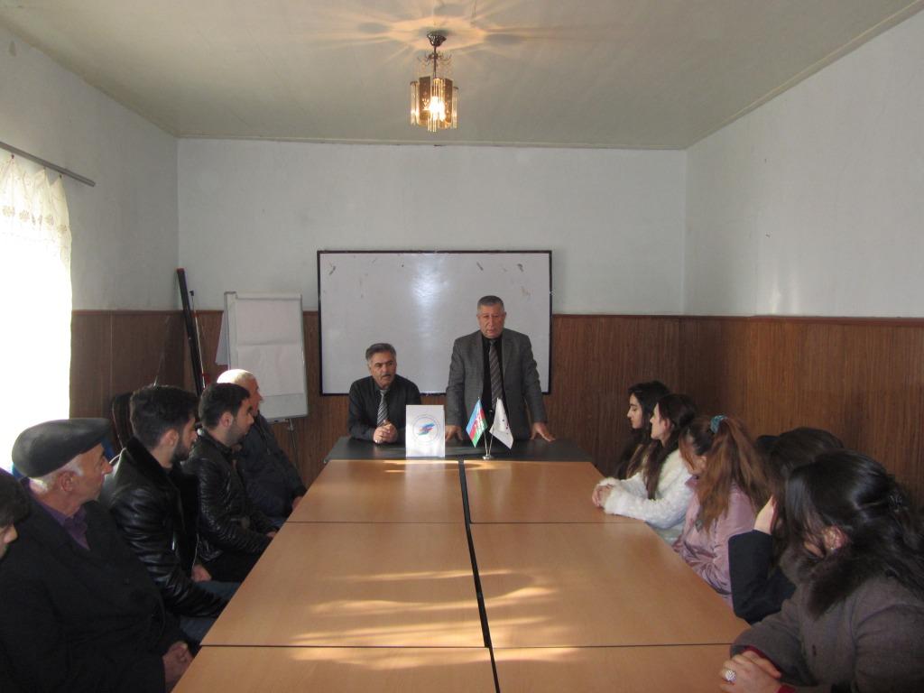 AVCİYA bələdiyyə seçkiləri ilə bağlı Qubada seminar keçirdi