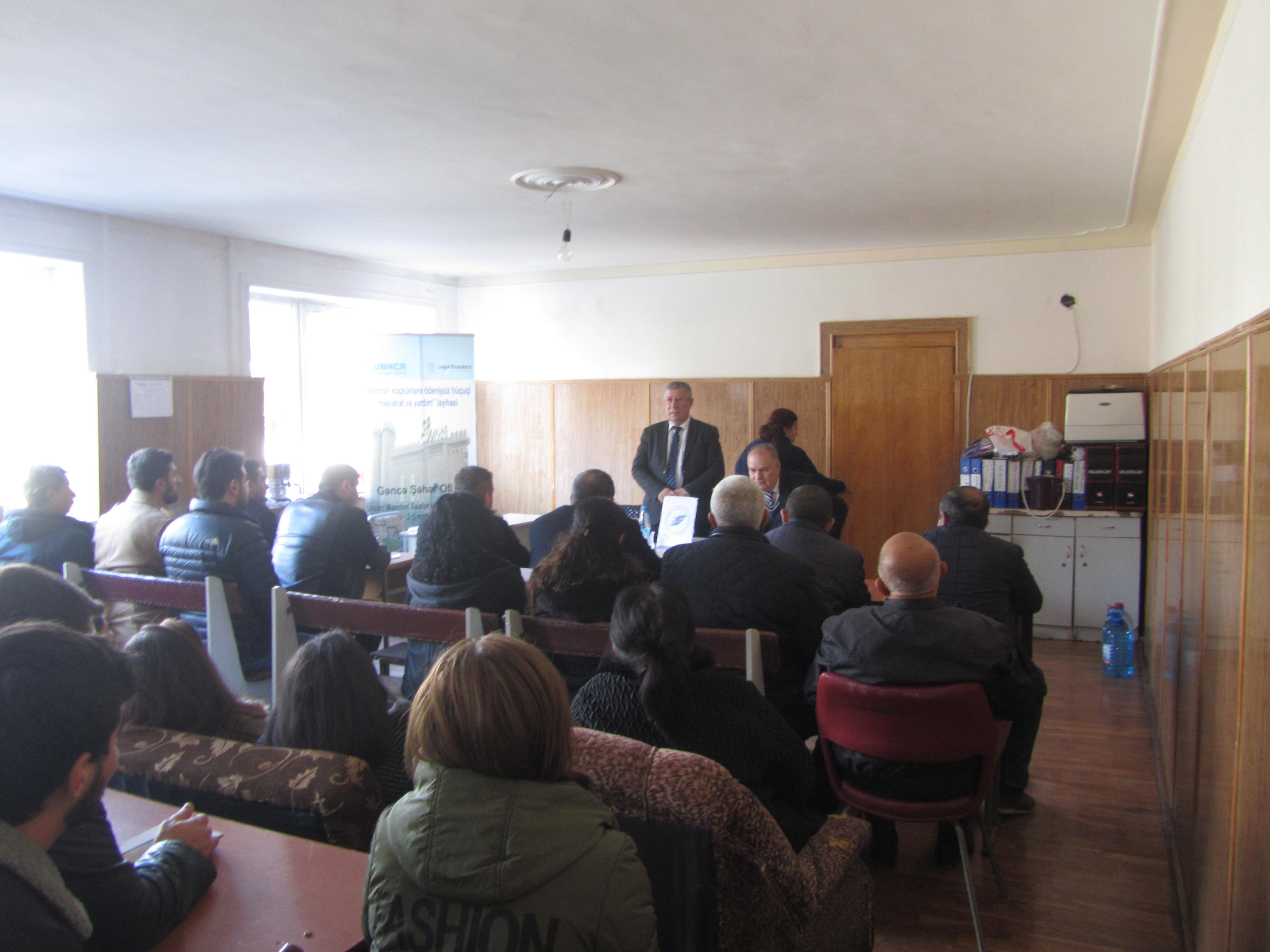 AVCİYA Gəncə, Göygöl və Mingəçevirdə seminarlar keçirdi