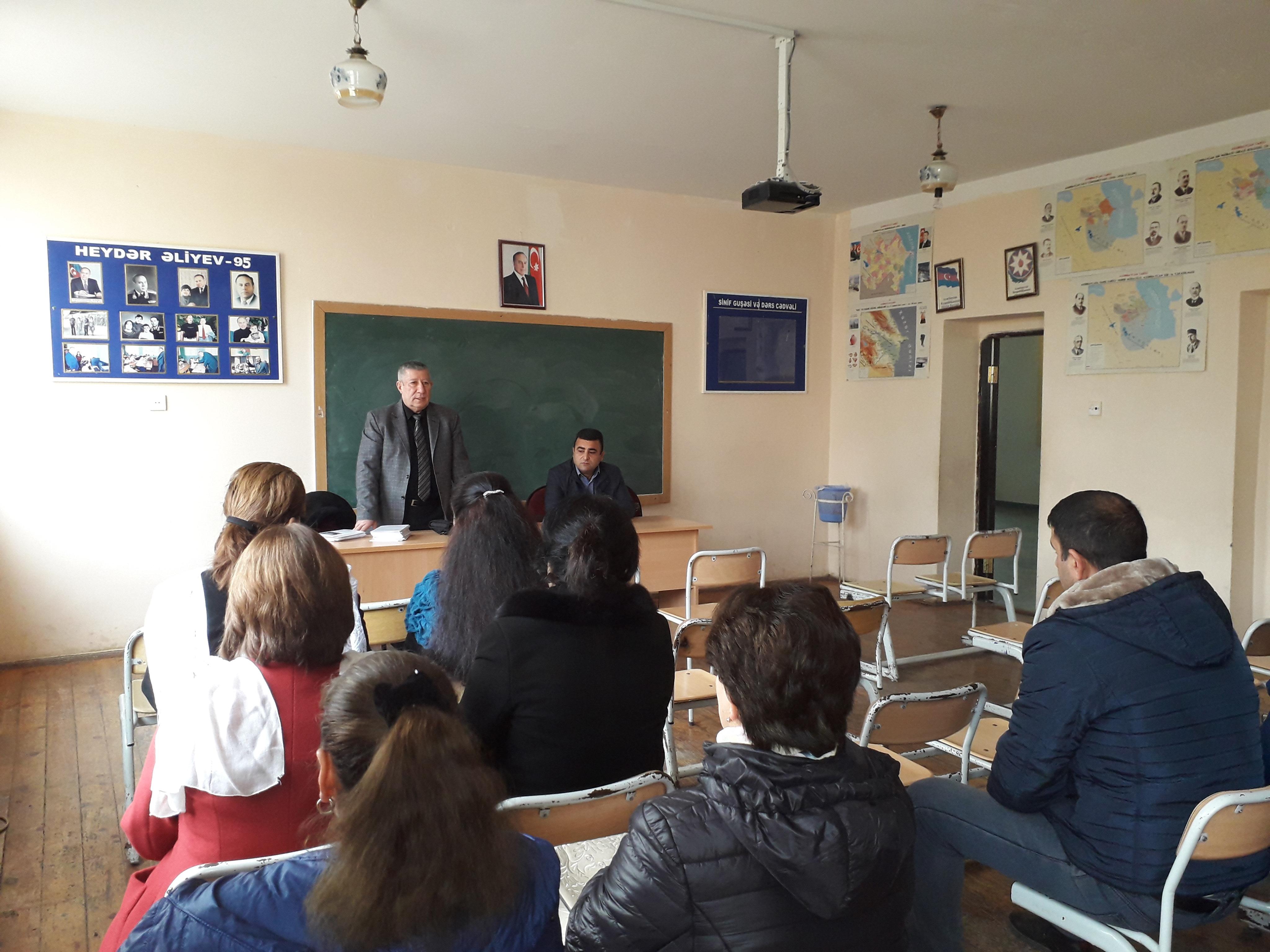 AVCİYA bələdiyyə seçkiləri ilə bağlı Şamaxıda seminar keçirdi