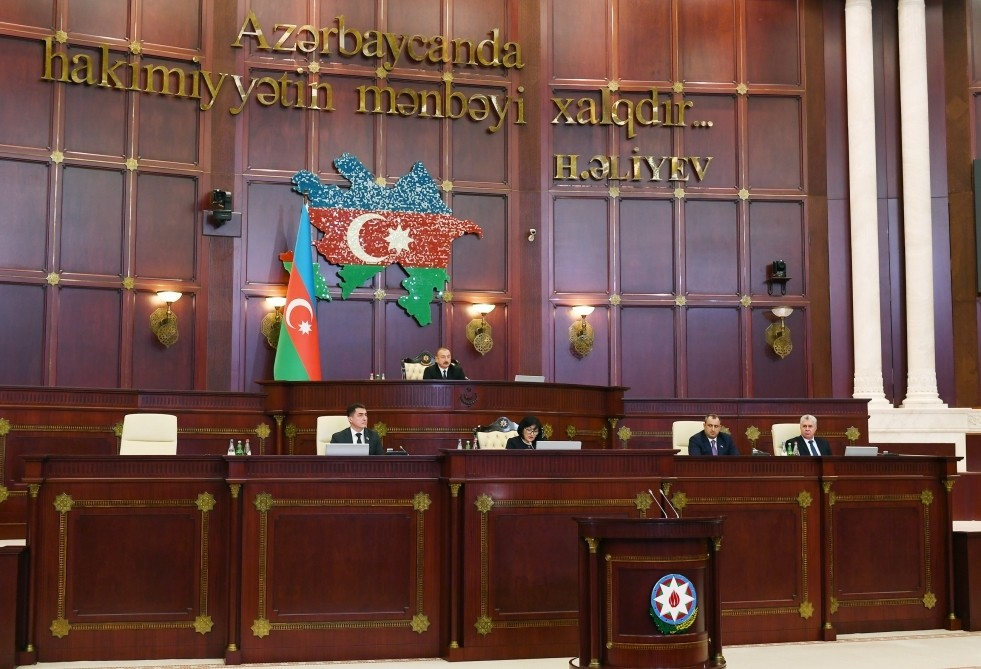 Plenary session of Azerbaijan's sixth convocation parliament kicks off