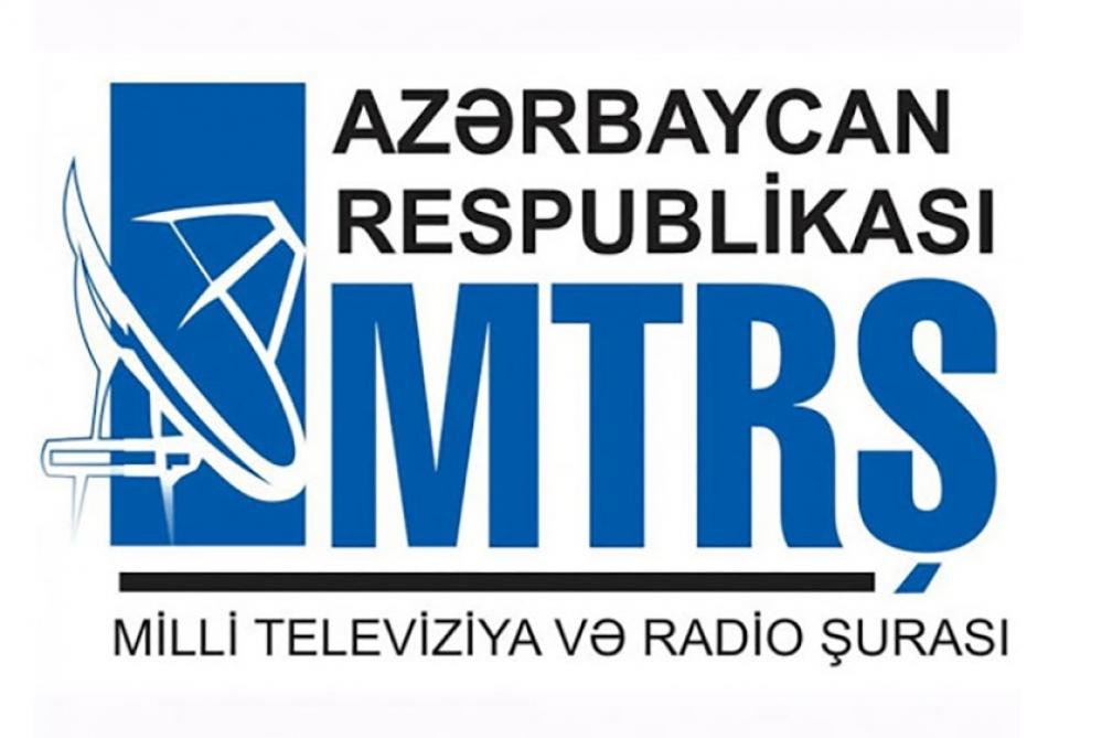 Milli Televiziya və Radio Şurasına yeni sədr seçilib