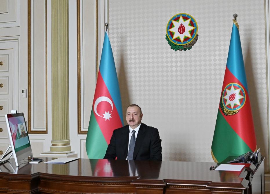 Azərbaycan Prezidenti İlham Əliyevlə Moldova Prezidenti İqor Dodon arasında videokonfrans formatında görüş keçirilib